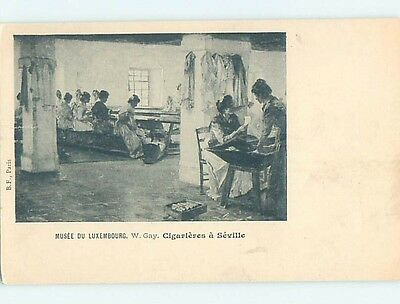 Pre-1907 foreign CIGARIEVES A SEVILLE - LUXEMBOURG HL7323