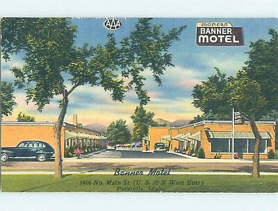 Linen MOTEL SCENE Pocatello Idaho ID hk2104