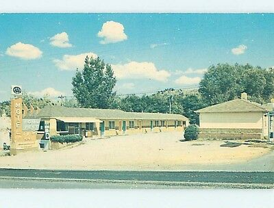 Pre-1980 MOTEL SCENE Spearfish South Dakota SD hk1037
