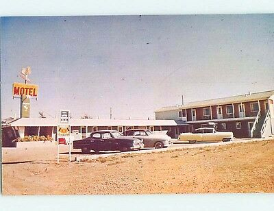 Unused 1940's MOTEL SCENE Great Falls Montana MT hk0508-12