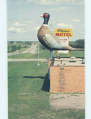 Unused Pre-1980 MOTEL SCENE Huron South Dakota SD hk0732