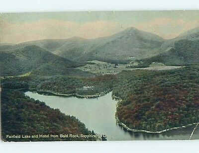 Bent Divided-Back WATER SCENE Sapphire North Carolina NC hk3492