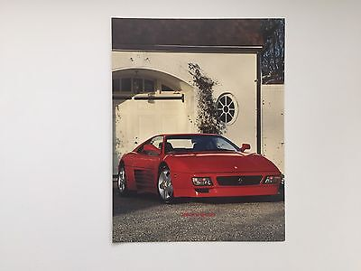 1993 Ferrari 348 Series Speciale North America Brochure 0426