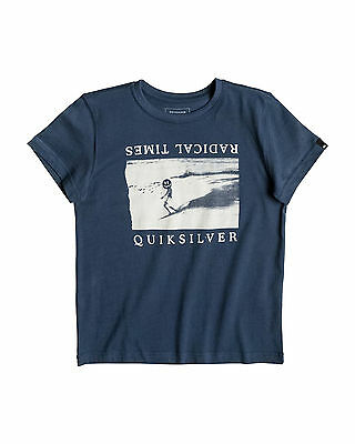 NEW QUIKSILVER™  Boys 2-7 Sleigh Ride T Shirt