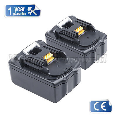 2 X New 18V 3.0Ah Lithium Ion Battery For Makita Bl1830 Bl1840 Lxt400 Bl1835 Uk