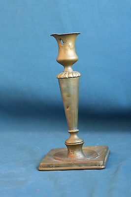 HENNIGER & Co WARSZAWA  Brass candlestick 19th century judaica