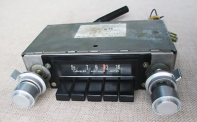 CAR RADIO fits VINTAGE VALIANT MOPAR CHRYSLER