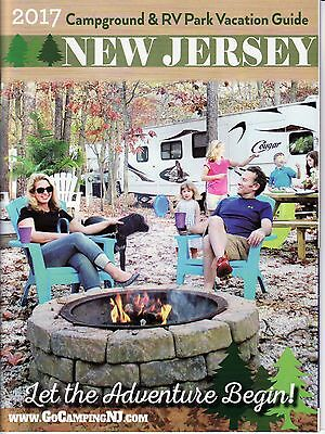 2017 Campground & RV Park Vacation Guide NJ NEW JERSEY Owners Assn Guidebook