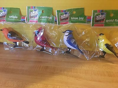 4 Set Motion Activated  Singing Bird Motion Sensor NEW IN PACKAGE