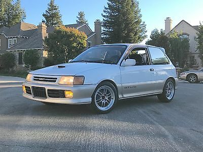 "1990 Toyota Starlet GT Turbo EP82 Glanza 1990 Toyota Starlet GT Turbo RHD ""Glanza""  "" EP82 "" JDM Legal Import; Beautiful"