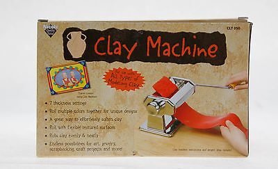 Nicole Clay Rolling Machine CLY050 7 Thickness Settings - NEW