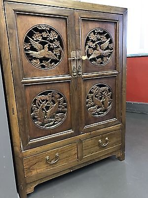 Chinese Cabinet Asian Oriental Cupboard
