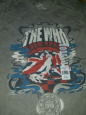 Lot of 20 the who t-shirts assorted sizes. wholesale consignment