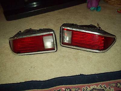 original equipment 1974-1977 chevrolet camero rs ss stop tail lights and harness