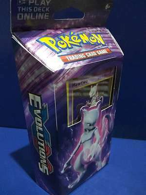 Pokemon - XY EVOLUTIONS Theme Deck.MEWTWO TCG Sealed