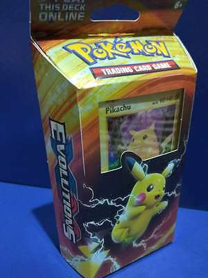Pokemon - XY EVOLUTIONS Theme Deck.PIKACHU TCG Sealed