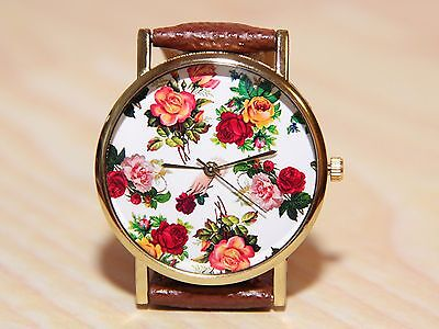 Watch flowers, rose watches, Women's watches