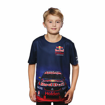 Official 2017 Red Bull Holden Racing Team Car Livery Sublimated Tee Youth