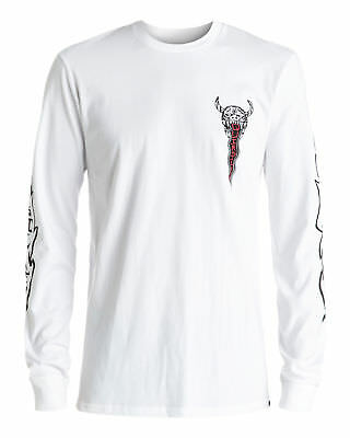 NEW QUIKSILVER™  Mens Burn Out Long Sleeve T Shirt Tee Tops