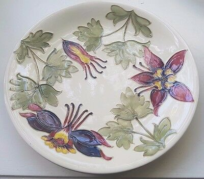 Moorcroft Orchid Plate - 26cm