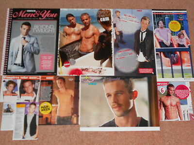 10- CAM GIGANDET Magazine Clippings