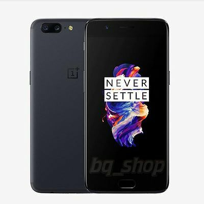 "OnePlus 5 64GB Grey 5.5"" Dual 6GB RAM 16MP Octa Core Android Phone by Fed-ex"