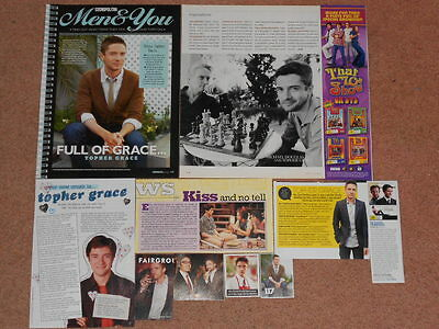 11- TOPHER GRACE Magazine Clippings