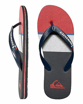 NEW QUIKSILVER™  Mens Molokai Everyday Blocked Thong Flip Flops Slippers