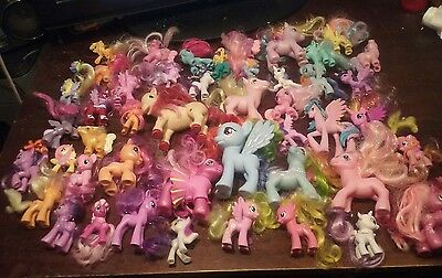 Lot 46 Different My Little Pony Friendship is Magic g3 g4 2000s rares common mlp