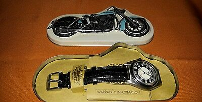 """N.O.S. Harley-Davidson """"SPEED-O-METER"""" with Original Box and Warranty Book"""
