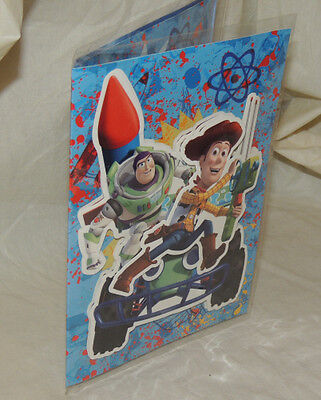 TOY STORY  - carte postale 3D