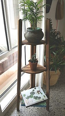 Rustic Plant Stand Ikea Askholment Timber Indoor or Outdoor VIC