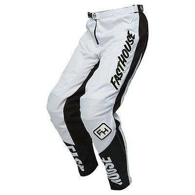 FASTHOUSE GRINDHOUSE Off Road Dirt Bike PANT WHITE