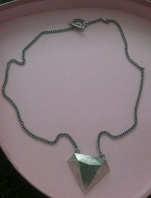 Afends Diamond shaped necklace - RARE and limited edition (no longer available)