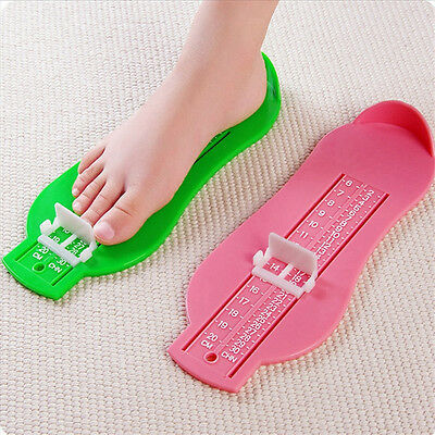 Accurate Infant Toddler Baby Foot Measure Gauge Shoes Size Measuring Ruler Tool