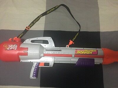 Larami 1997 Super Soaker CPS 2500 Water Cannon Works!