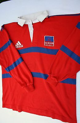 MAILLOT de RUGBY   A.S. BEZIERS   vintage  (taille XL)