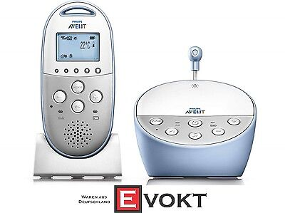 Philips SCD570/00 AVENT DECT Baby Monitor Crystal Clear Sound White Genuine New