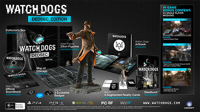 Watch Dogs DedSec Collectors Edition Xbox One (DOES NOT INCLUDE DLC)