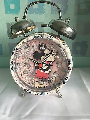 Mickey Mouse Disney Retro Design Alarm Clock