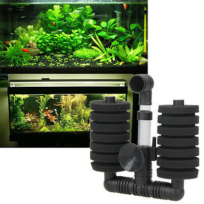 Aquarium Internal Filter for Fish Tank Submersible with Spray Bar