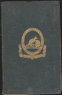 Stephen's Authentic History Of South Australia - Rare Book