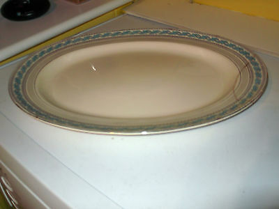 Very Large   Minton Oval Plate / Platter In Guildford Pattern