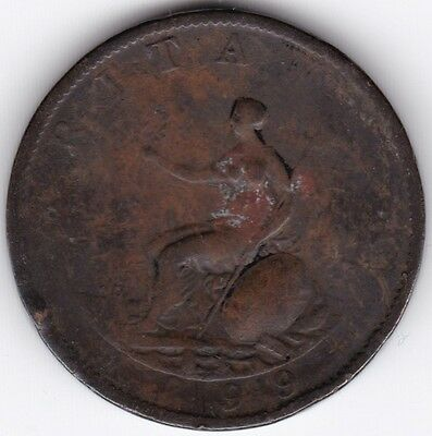 1799 George III Half-Penny***Collectors***