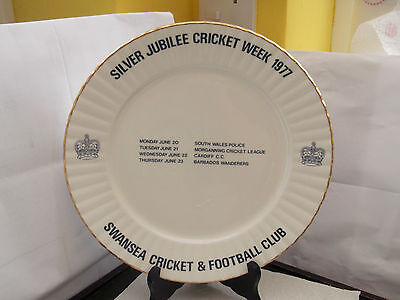 1977 Silver Jubilee Of Q E 11  Swansea Cricket & Football Club Cricket Week