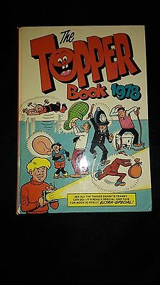 The Topper Annual 1978 Vintage U.K Comic Hardback