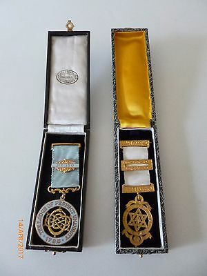 TWO MASONIC MEDALS (From India)