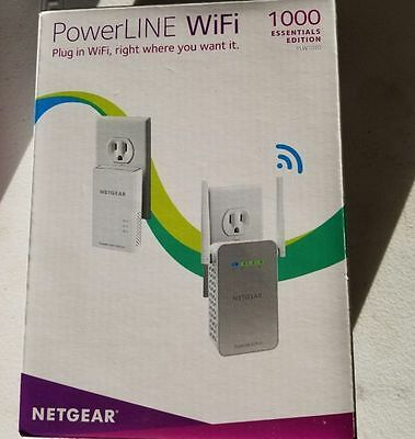 NETGEAR PowerLINE 1000 Mbps WiFi, 802.11ac, 1 Gigabit Port - (PLW1010-100NAS)