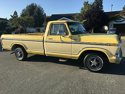 1979 Ford F-100 Worldwide No Reserve Auction HD Video 1979 Ford F100 Custom California 1 Family Owner 76 Pics HD Video No Reserve