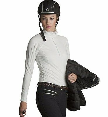 New Mountain Horse Jade Tech Top - Medium, Vanilla White